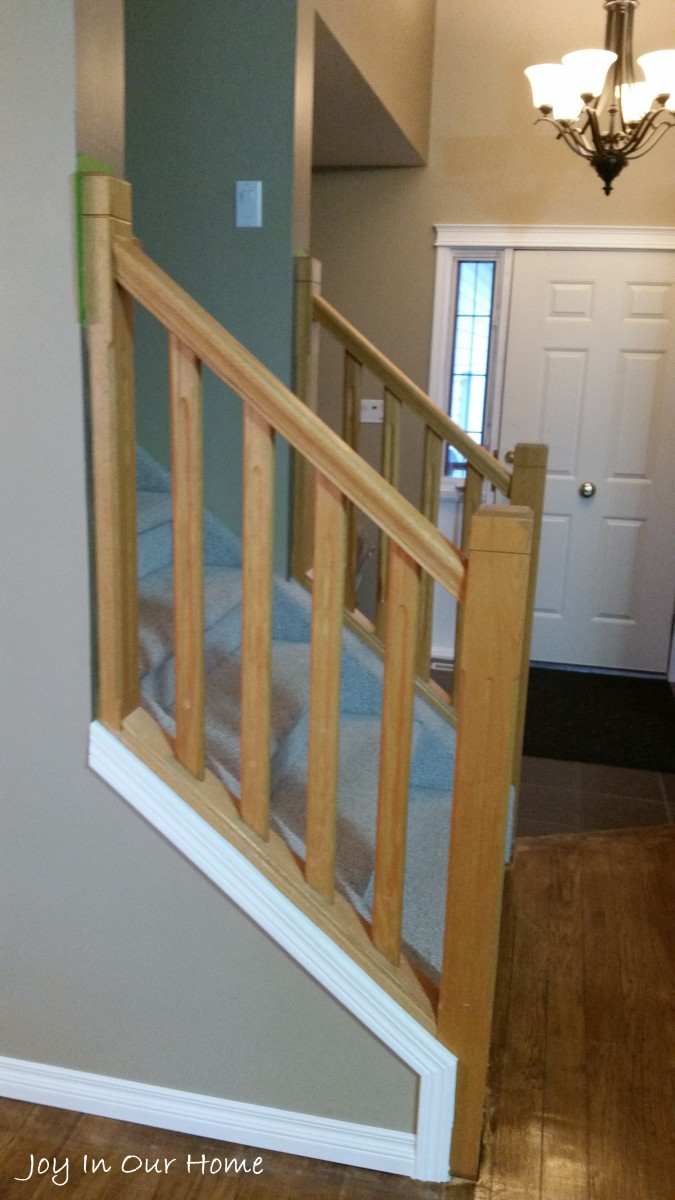 Chalkpaint Staircase