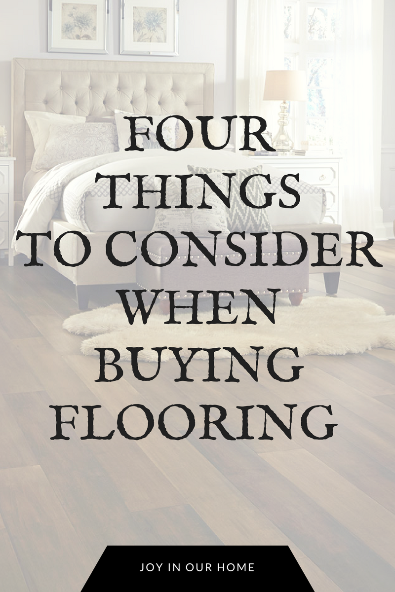 One room challenge week 4 4 things to consider when choosing flooring joy in our home - Things to consider when choosing bathroom tiles ...
