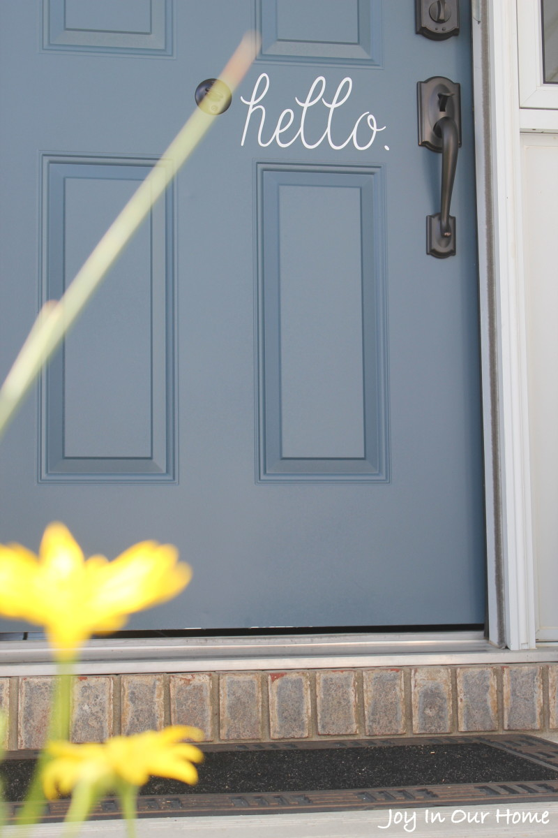 The Easiest Way To Paint a Door from www.joyinourhome.com