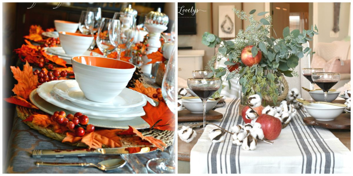 A Surprise 'Pop' of Color for our Fall Tablescape 24