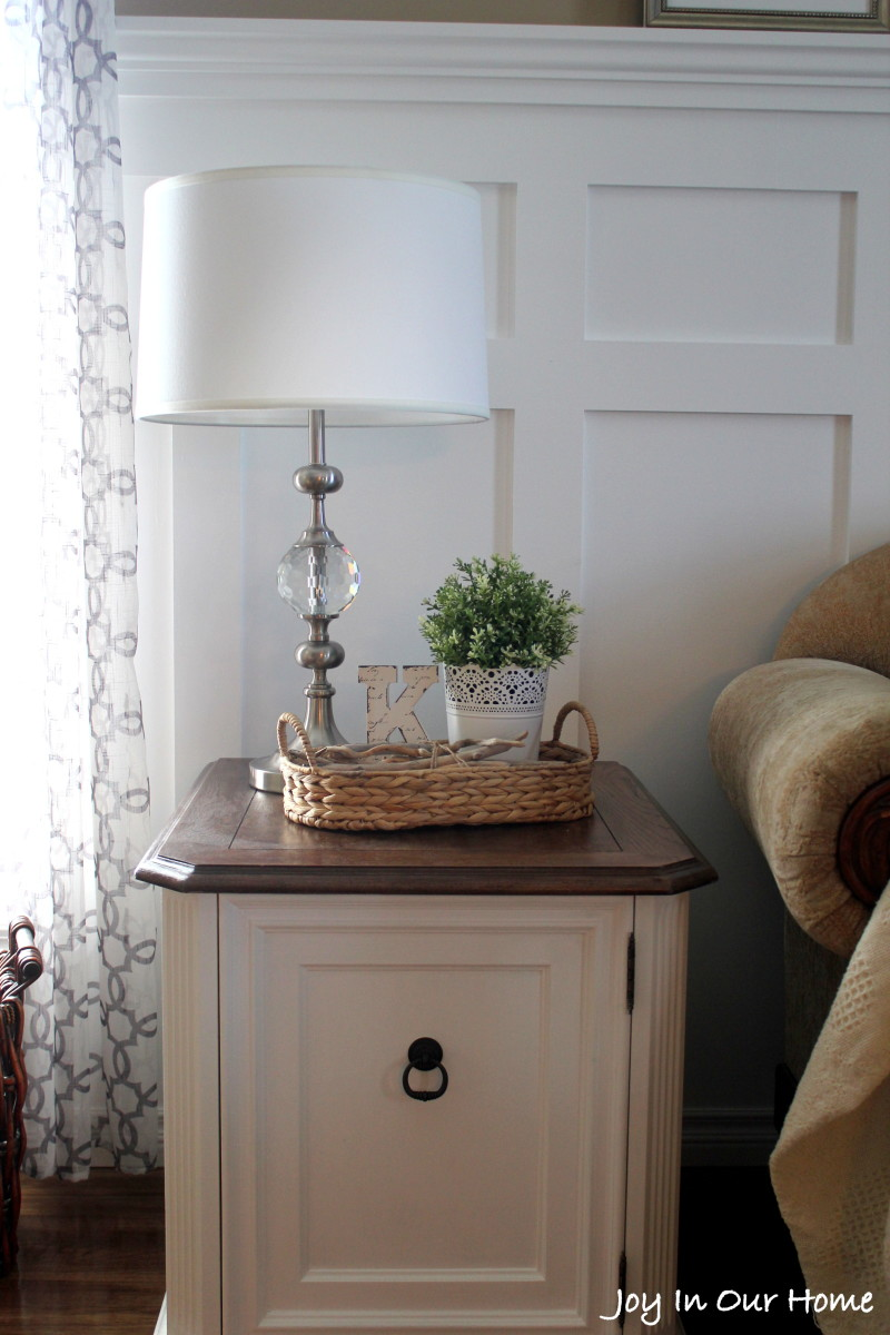 Repurposed Living Room End Table {Thrifted Item Makeover ...