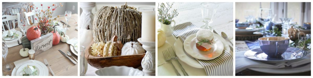 A Surprise 'Pop' of Color for our Fall Tablescape 23