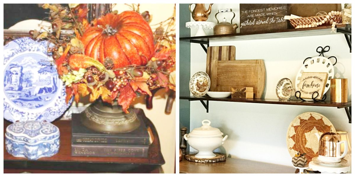 A Surprise 'Pop' of Color for our Fall Tablescape 18