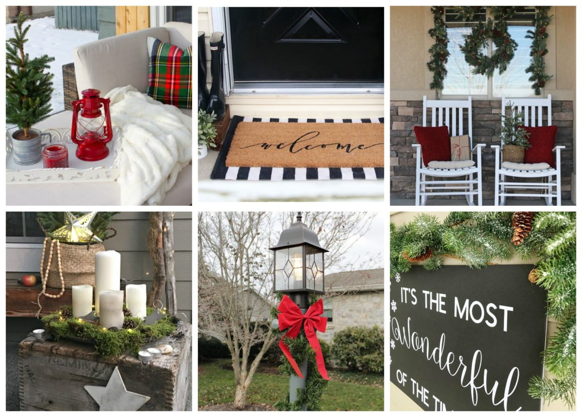 Decorating the Mantle for the Holidays - A Christmas Festival Blog Hop 20