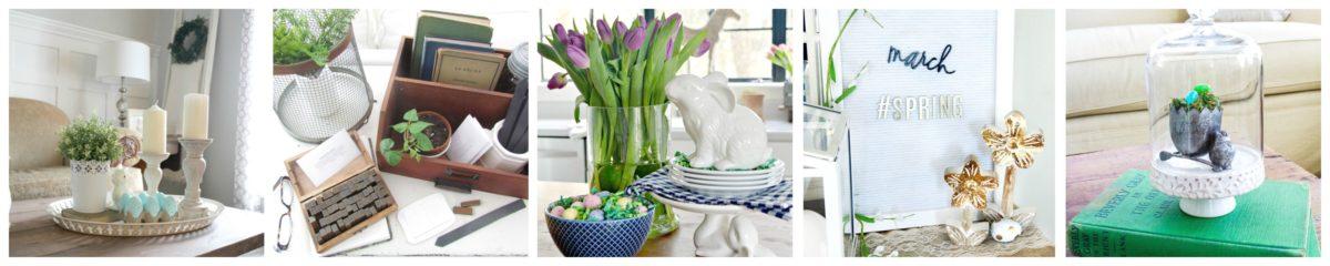 Boxwood Spring Tablescape: Spring Festival Blog Hop 20