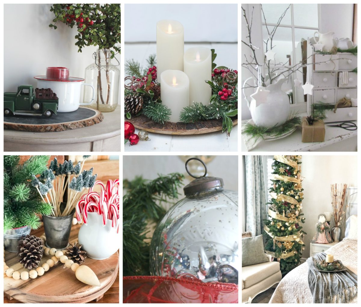 Creative Home Decor Youtube: Christmas Vignettes In The Dining Room