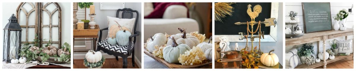How to Create a Perfect Vignette for Fall - Fall Festival Blog Hop 15